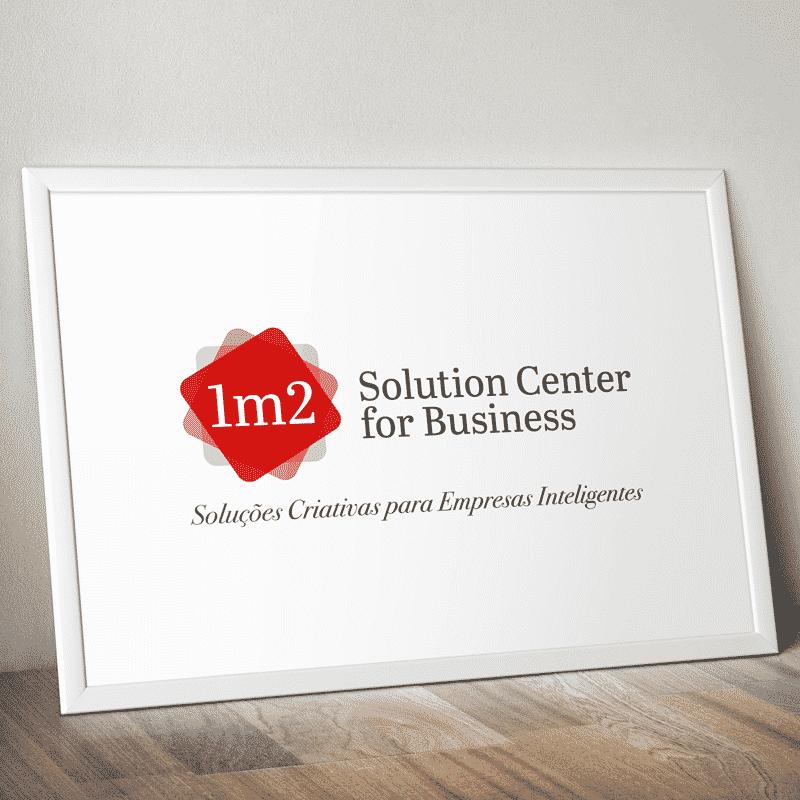 Logotipo: 1m2