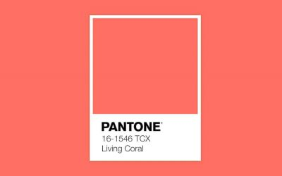 A cor de 2019 – PANTONE Living Coral